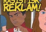 """Klistermärket """"Ingen rasistisk reklam"""" att sätta på brevlådan inför valet."""