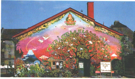 Christiania på 1970-talet. Photo Courtesy Paolo Bianchi.