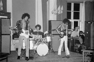 Jimi Hendrix' konsert på AF i Lund 10/10 1967