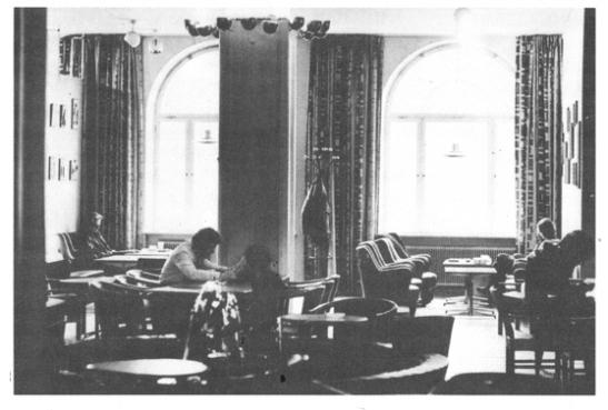 Cafe Aten på 1970-talet. Foto courtesy Student i Lund