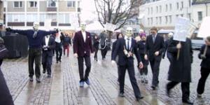 Walk for Capitalism i Lund 2001: ett fiasko