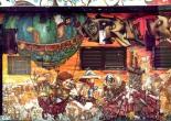 Os Gemeos, tvillingarna från Sao Paolo med en av sina berömda graffiti pieces. Foto courtesy Art Crimes