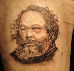 Nutida Bakunin-tatuering
