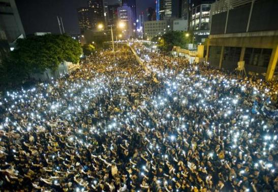 #OccupyCentral