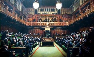 Apornas parlamentBanksy