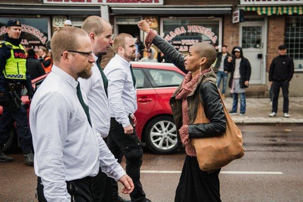 Christiania valdsamma protester efter husrivning