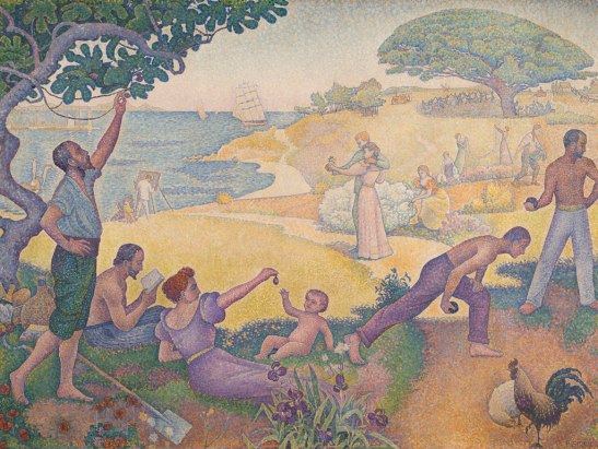 Paul-Signac-In-the-Time-of-Harmony-The-Golden-Age-is-Not-in-the-Past-it-is-in-the-Future-1894–5
