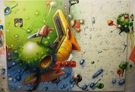 3d-mural-graffiti-virus