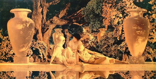 garden-of-allah-1918MaxfieldParrish