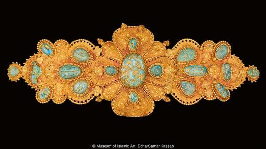 guldspänne, Museum of Islamic Art
