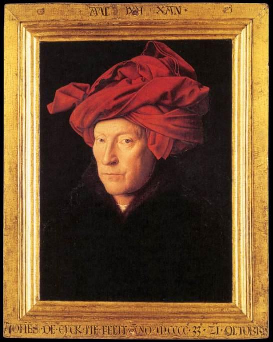 Eyck, Man in a Red Turban, 1433