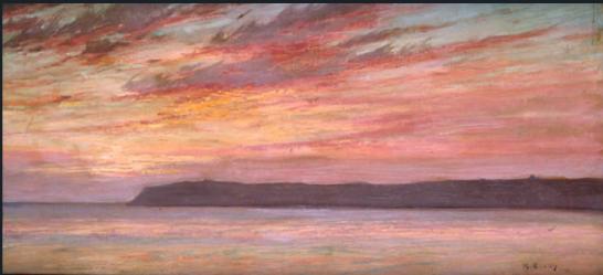 maurice braun point loma sunset 1912