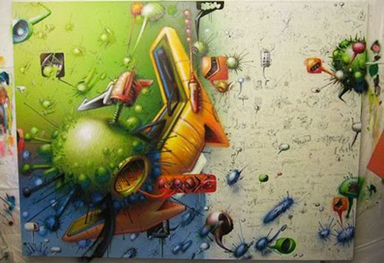 3d-mural-graffiti-virus