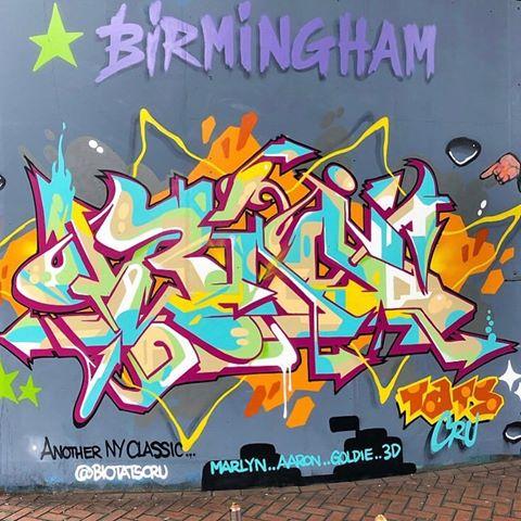 Expressions Graffiti Wall Art Print Design TM School Backpack