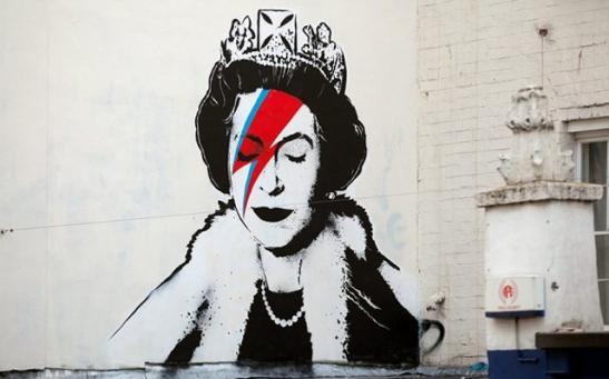 Banksy-Queen